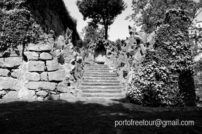 The gardens of Porto